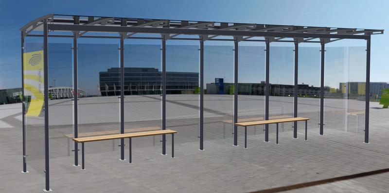 Autobusová zastávka Katka
