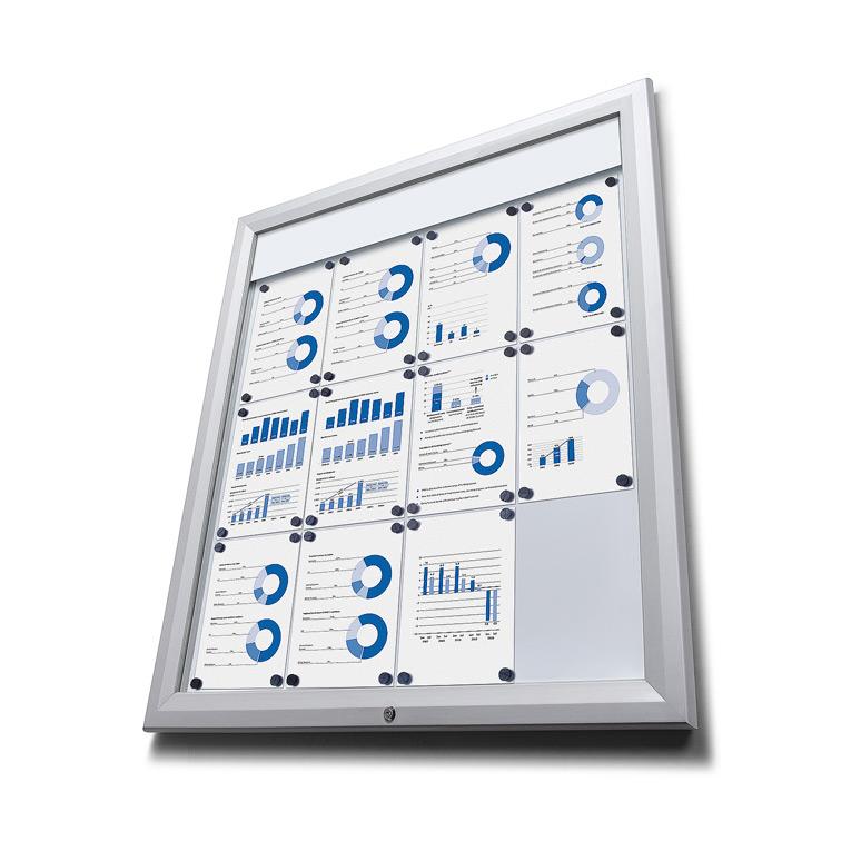 Prosvětlená LED vitrína V9